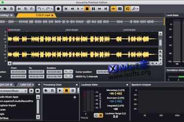 [Mac]音频编辑软件 : Acoustica Premium Edition