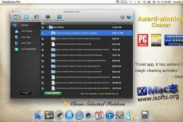 [Mac]系统优化清理工具 : CleanGenius