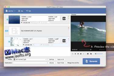 [Mac]将视频转换为GIF动画 : AnyMP4 Video 2 GIF Maker