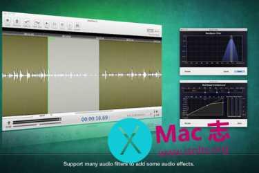 [Mac]多音轨音频编辑工具 : Colorful Wave
