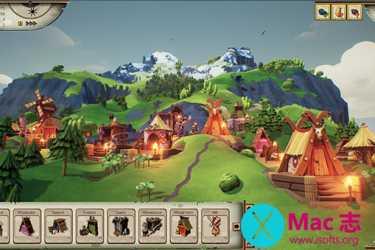 [Mac]瓦尔哈拉山(Valhalla Hills) : 以北欧神话为基础的城市建设模拟游戏