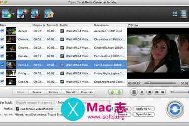 [Mac]视频文件的转换器 : Tipard Total Media Converter