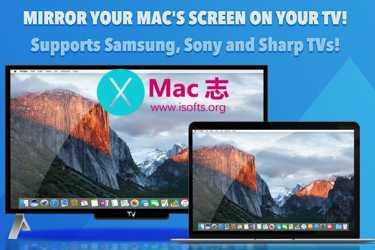 [Mac]将电脑屏幕镜像到电视上 : TV Mirror for Samsung, Sony TV