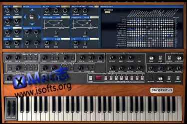 [Mac]可编程的复音模拟合成器 : Arturia PROPHET V