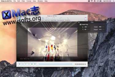 [Mac]视频转gif动画工具 : Video to GIF Pro