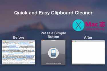 [Mac]剪贴板清理工具 :Cleanboard