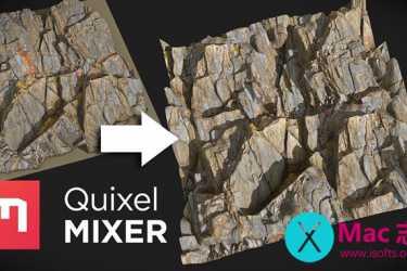 [Mac]三维材质纹理混合软件 : Quixel Mixer