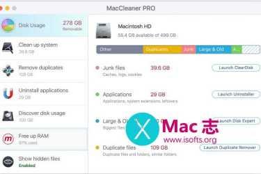 [Mac]系统清理优化工具 : MacCleaner PRO