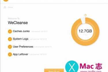 [Mac]系统清理优化软件 :WeCleanse