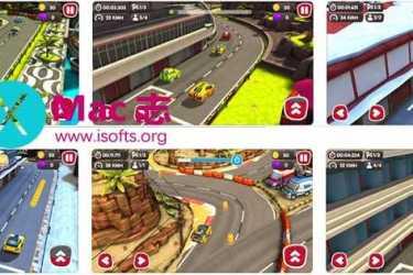 [iPhone/iPad]涡轮极速赛车游戏 : Turbo Wheels