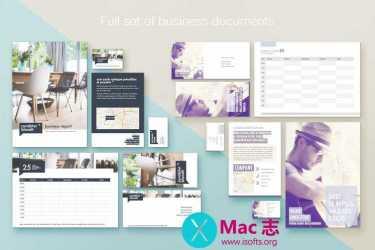[Mac] Pages商业模板套件 :Branding Lab – Templates