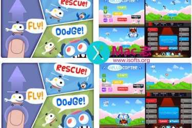 [iPhone/iPad]儿童趣味游戏 :Hello Copter