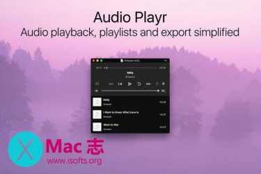[Mac]方便好用的全能音乐播放器 :Audio Playr