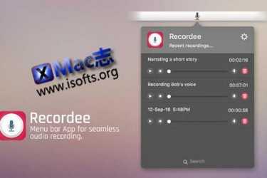 [Mac]易用的录音软件 : Recordee