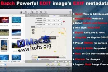 [Mac] 照片EXIF元数据编辑工具 : Image Exif Editor