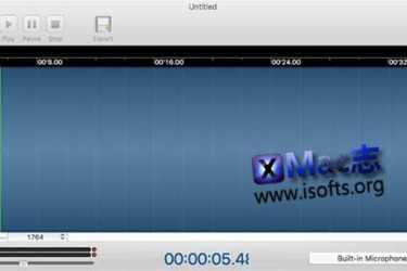[Mac]录音软件 : DicRecorder