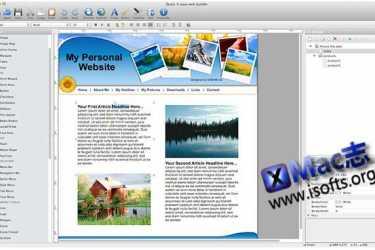 [Mac]方便快速的网页制作工具 : Quick Easy Web Builder