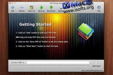 [Mac] PDF文件合并工具 : PDF Merger