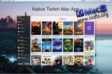 [Mac] Twitch客户端工具 : Mitch