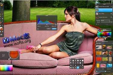 Pixelmator : Mac平台小巧强大的图像编辑工具