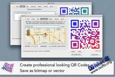 Mac平台的二维码生成器 : QR Factory