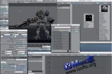 Mac平台强大的三维动画制作软件 : Lightwave 3D