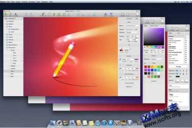 Mac平台的矢量绘图工具 : Sketch