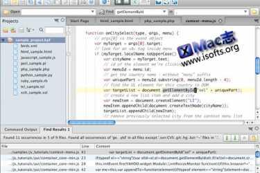 优秀的Mac平台的文件编辑器 : Komodo Edit for Mac