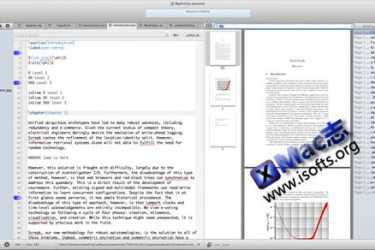 Mac平台优秀的LaTeX编辑器 : TeXnicle