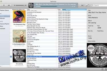 Mac平台简洁的音乐播放及管理工具 : Swinsian