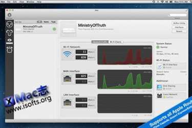 [Mac]网络监视器软件 : iNet