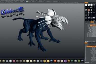 [Mac]功能强大的数字雕塑软件  : 3D-Coat