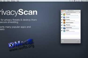[Mac]清除个人隐私缓存 : PrivacyScan