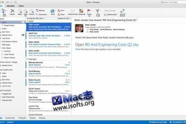 Microsoft Outlook for Mac : 邮件客户端