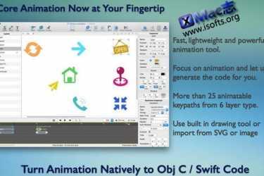 [Mac]轻量级的动画制作开发工具 : QuartzCode