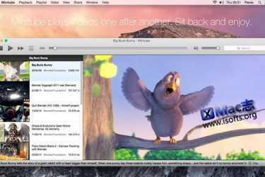 [Mac]Youtube客户端工具 :Minitube