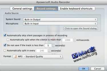 [Mac]音频录制软件 : Apowersoft Audio Recorder