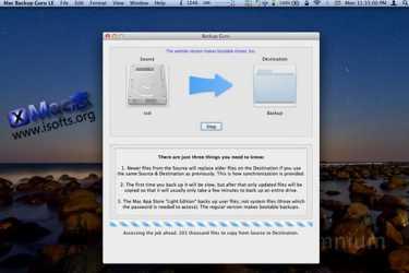 [Mac] 文件/文件夹同步备份工具 : Backup Guru LE