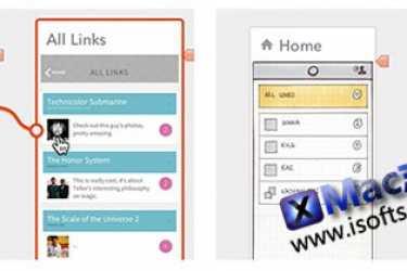 [Mac]可交互式的设计原型软件 : Flinto