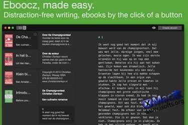 [Mac] ePub 电子书编写制作工具 : Eboocz