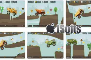 [iPhone/iPad]狂野重卡 : 矿车运输模拟竞速游戏
