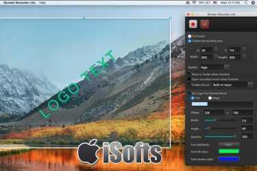 [Mac]方便好用的屏幕录像软件 :iScreen Recorder