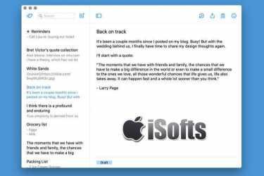 [Mac] Simplenote : 支持云同步的笔记软件