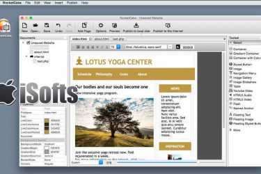 [Mac] RocketCake Website Editor :  网页设计制作工具