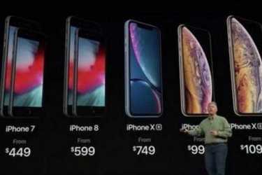 苹果要用高售价保持利润 – 应对iPhone销量下滑