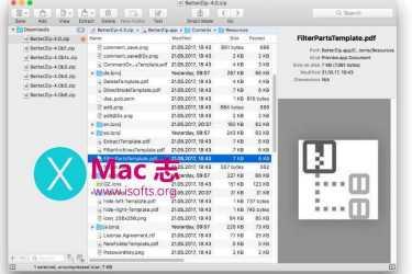 BetterZip  : Mac平台优秀的压缩解压缩软件
