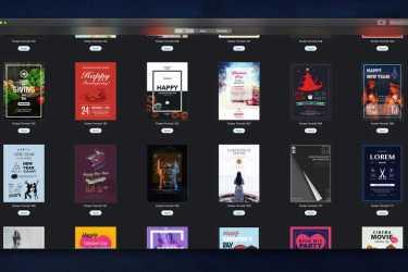 [Mac] Pages海报设计类模板套件 :Poster Templates – DesiGN