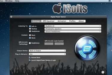 [Mac] Bongiovi DPS : 音频音效增强软件