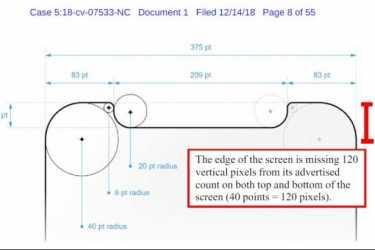 美国用户起诉iPhone X尺寸和像素造假