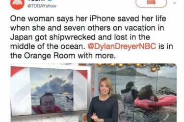 iPhone 防水功能发威!翻船游客感谢 Apple 救命